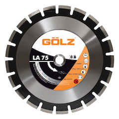 LA75 Disque diamant  asphalte technique