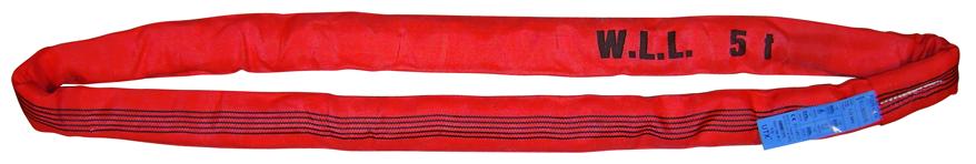 Elingue ronde CMU (kg) : 5000 Rouge