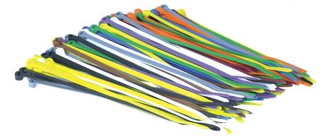 Colliers de serrage multicolor - 4,7x183