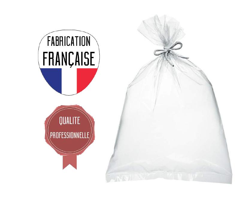 sacs plastique polyvalents  100x150 - 50 µ