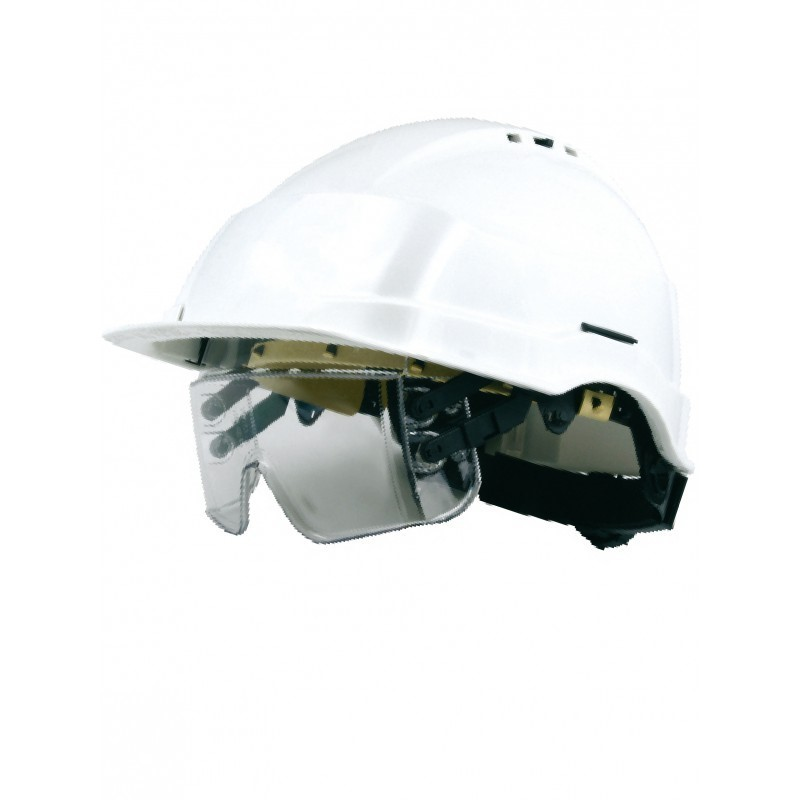 Casque de securite + lunette