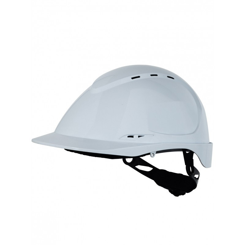 Casque securite blanc