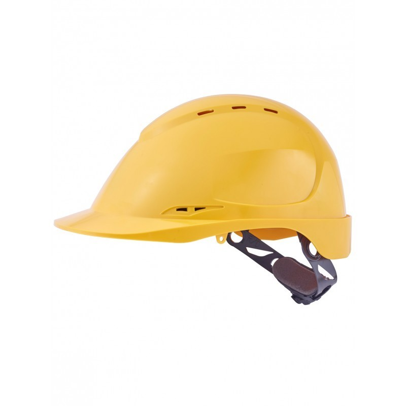 Casque securite jaune