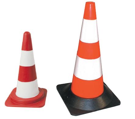 Cone orange fluo 30 cm