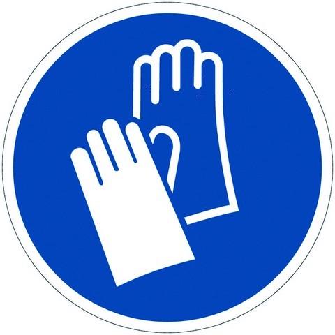 Panneau port de gants