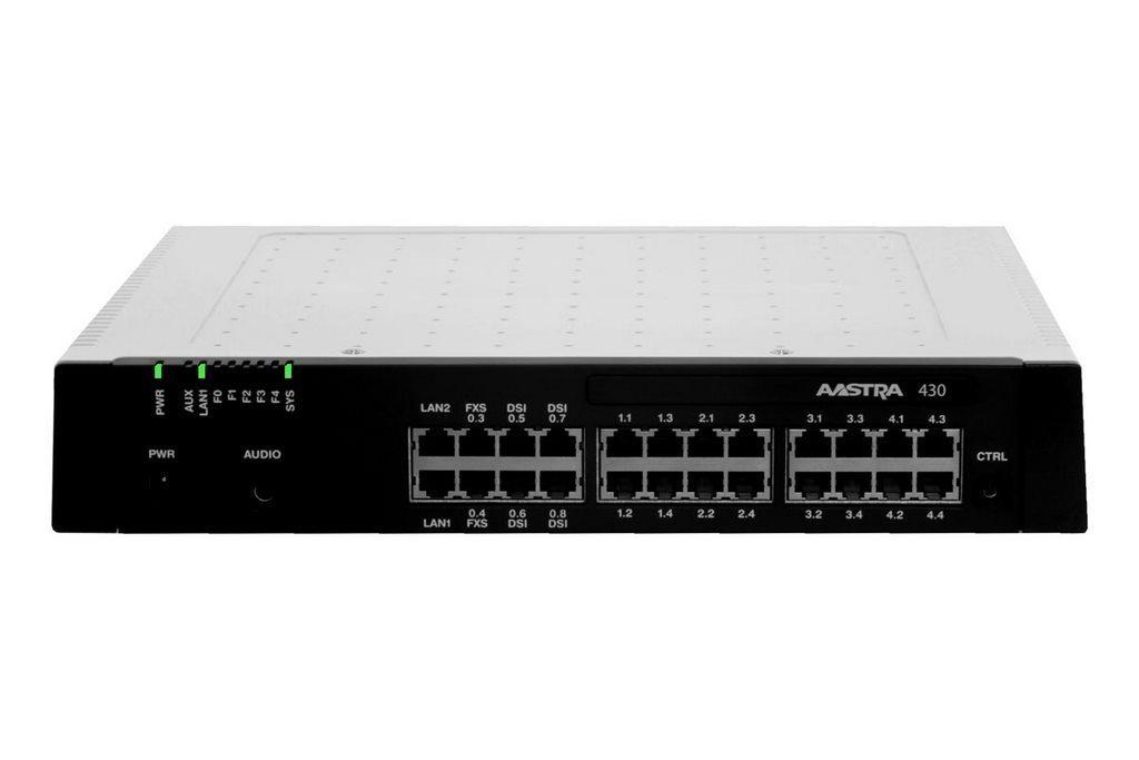 Aastra A430 de 1 à 20 postes