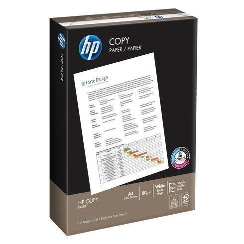 PAPIER A4 BLANC 80 G HP COPY - RAMETTE DE 500 FEUILLES