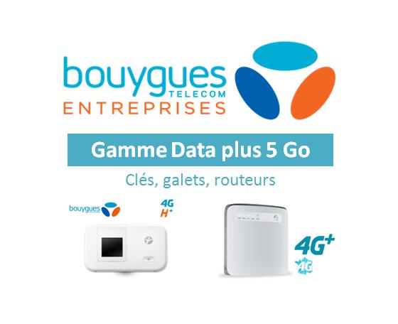 Data plus 5 Go : Clés, galets, routeurs
