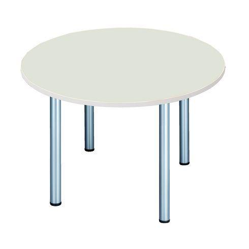 Table ronde 120 cm gris
