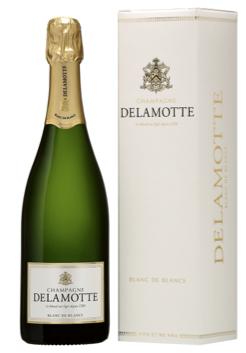 Delamotte Blanc de Blancs 75cl<br> Avec étui