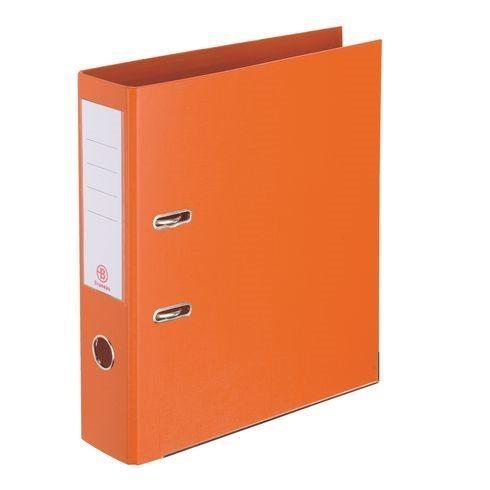Classeur À Levier Plastifié Bruneau A4 - Dos 7,2 Cm Orange