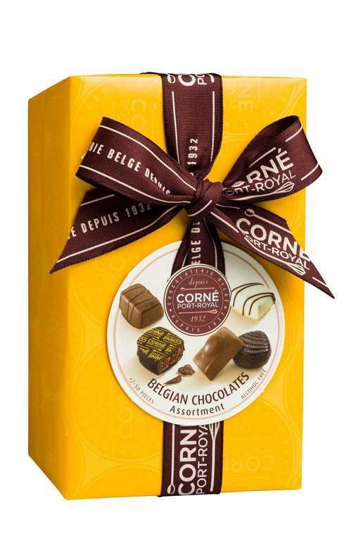 Ballotin 50 chocolats assortis