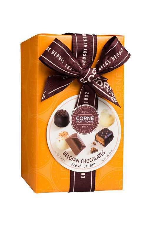 Ballotin 33 chocolats assortis <br>AVEC crème