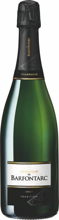 Champagne de BARFONTARC - La bouteille <br><b> Cuvée Tradition Brut</b>