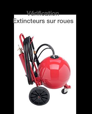 Vérification <b>Extincteur sur roues</b>