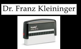 1 ou 2 lignes - Plaque 70x10mm - Cassette 6/4916