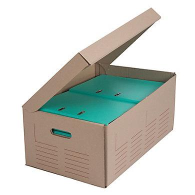 Caisse multi-usages imprimée à poignées 520X350X250MM