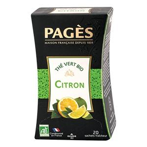 Thé citron/citron vert 20 sach