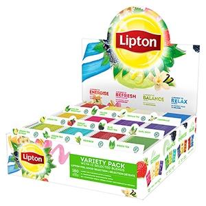 Coffret de thés et infusions LIPTON 180 sachets