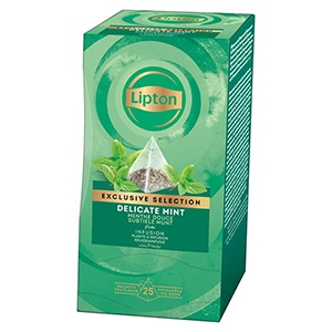 Infusion menthe Exclusive Selection Lipton 30 sachets