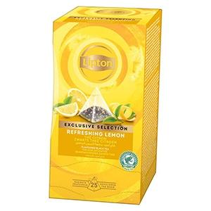 Thé citron Lipton Exclusive Selection 25 sachets