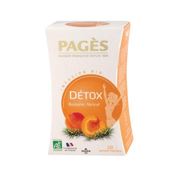 Infusion Détox Romarin-Abricot Bio Pagès