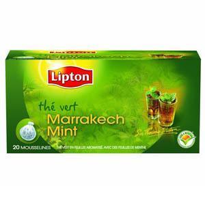 Thé Lipton Marrakech Mint x 20 sachets
