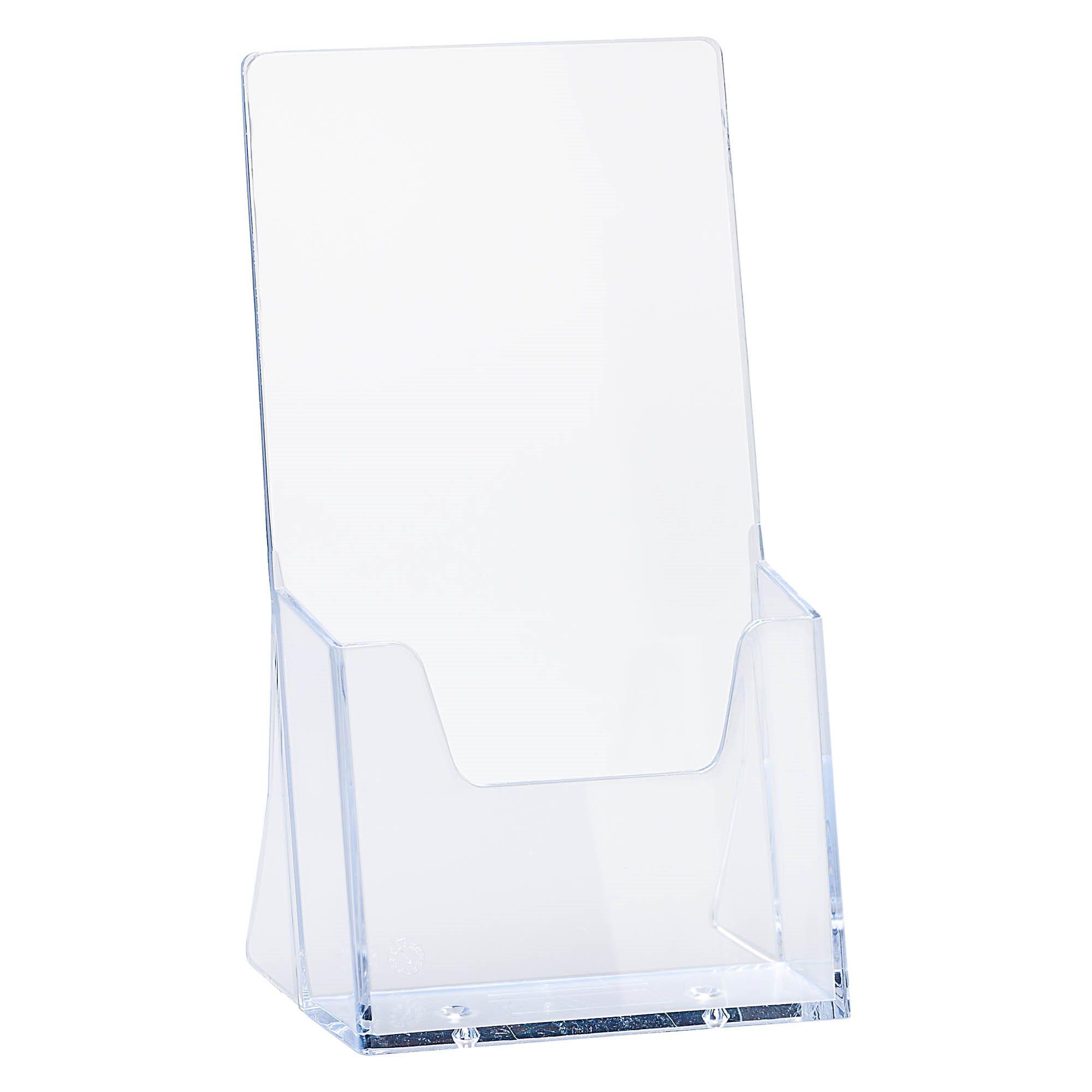 Présentoir de table 1 case 1/3 A4 transparent