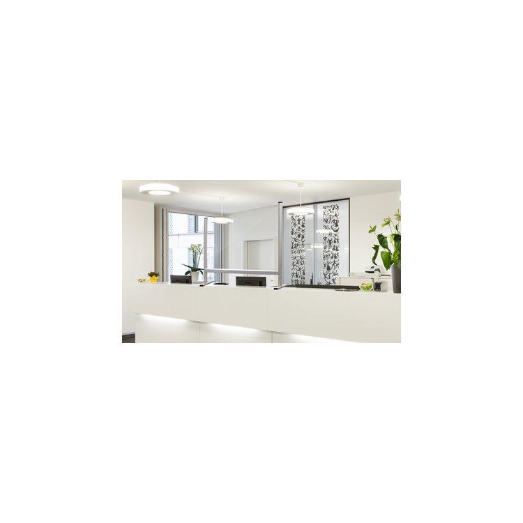 Écran de protection plexiglass L 40 x H 93 cm