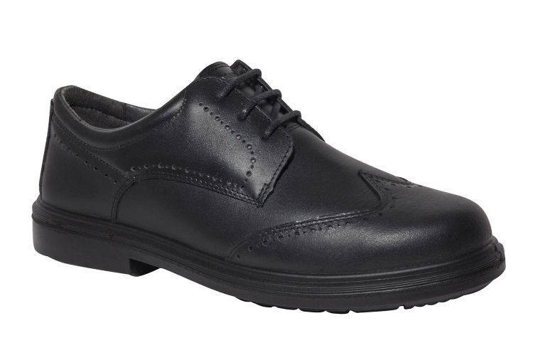 Chaussures de sécurité en cuir pleine fleur EPOKA S1P