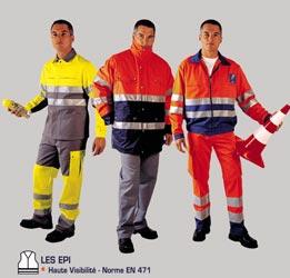 Pantalon bicolore haute visibilité