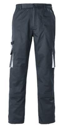 Pantalon bicolore 60% coton, 40% polyester, 245 g/m²