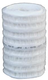 Grillage avertisseur 100 M x 30 cm - blanc