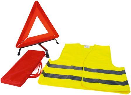 Kit de signalisation: Gilet + Triangle + Sacoche