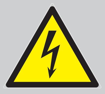 DANGER ELECTRICITE panneau rigide - 100x100x100