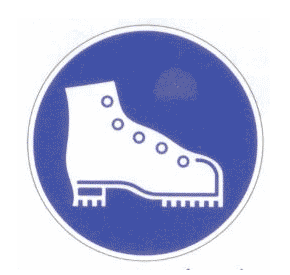 CHAUSSURES DE SECURITE OBLIGATOIRES support adhésif