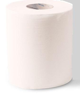 Essuie-mains ouate gaufrée à dévidage central