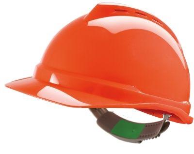 Casque V-Gard 500 ventilé, coiffe Push-Key (réglage coulissant)