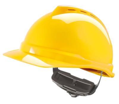 Casque V-Gard 500 ventilé, coiffe Fas-Trac III (molette)
