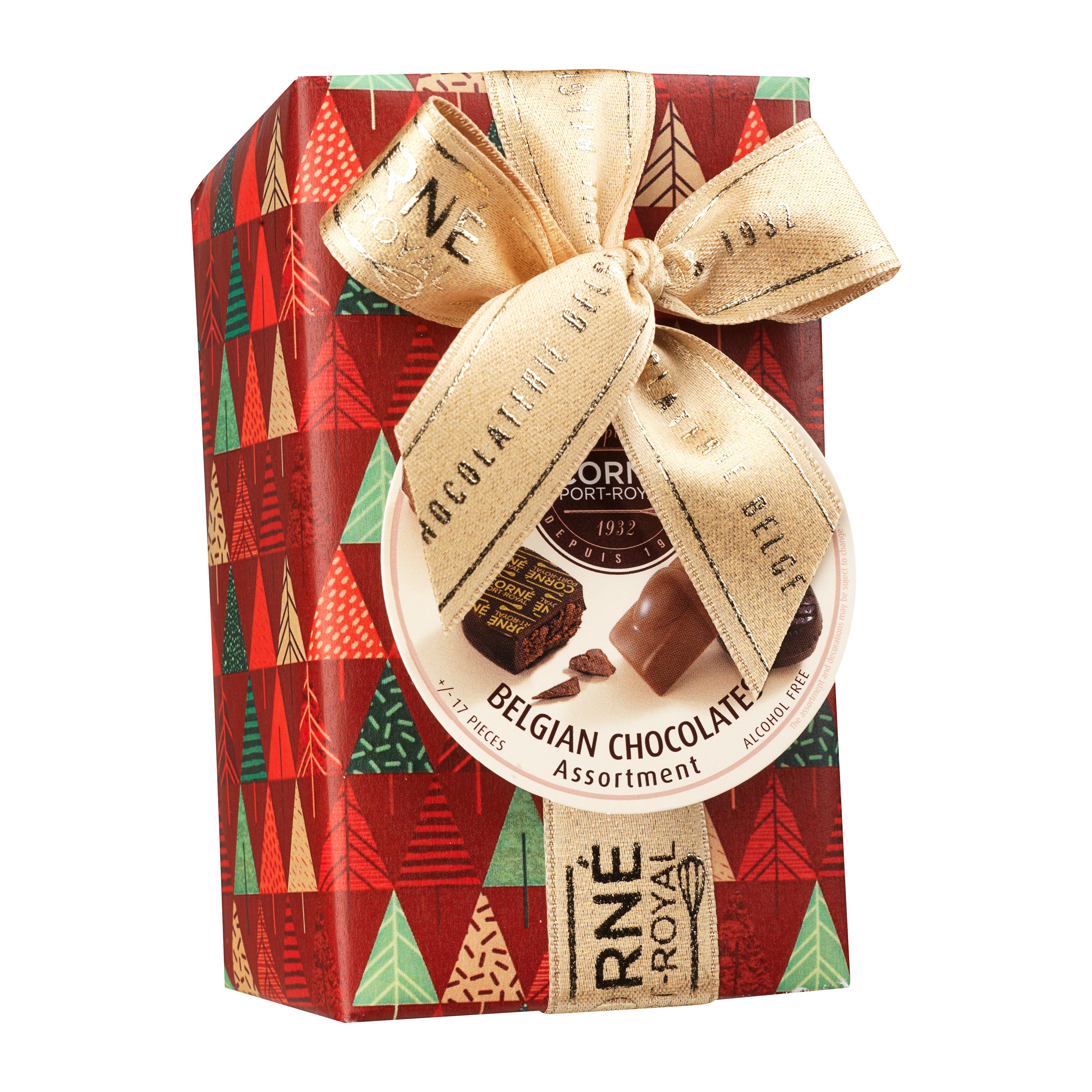 Ballotin 17 chocolats assortis <br>SANS crème et SANS ALCOOL