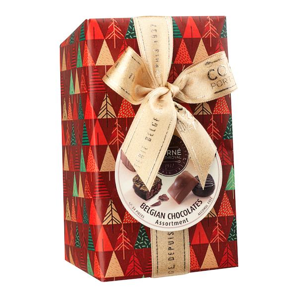 Ballotin 34 chocolats assortis <br> SANS crème et SANS ALCOOL