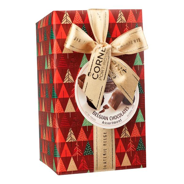 Ballotin 50 chocolats assortis <br> SANS crème et SANS ALCOOL