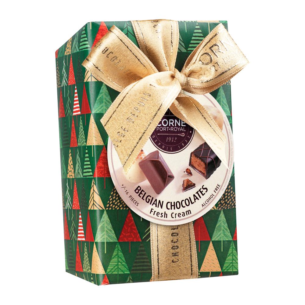 Ballotin 16 chocolats assortis <br>AVEC crème fraîche