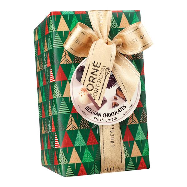 Ballotin 33 chocolats assortis <br>AVEC crème fraîche