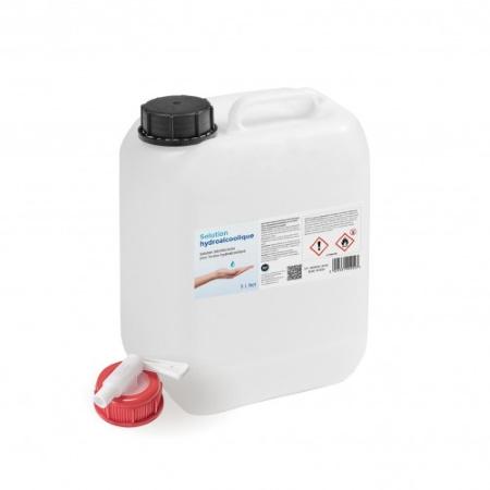 Gel Hydroalcoolique bidon 5 Litres avec robinet