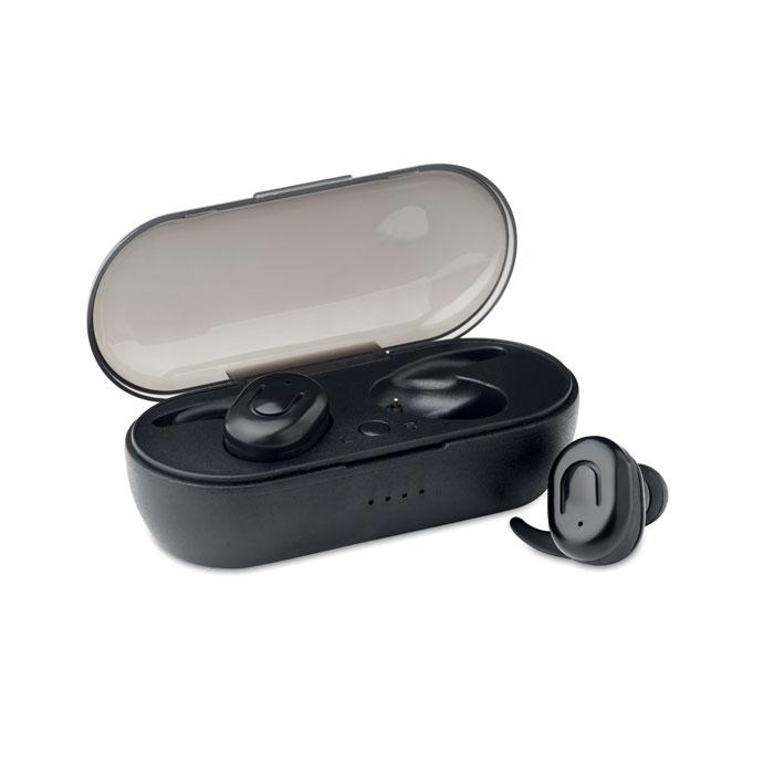 2 écouteurs stéréo sans fil TWS BT 5.0