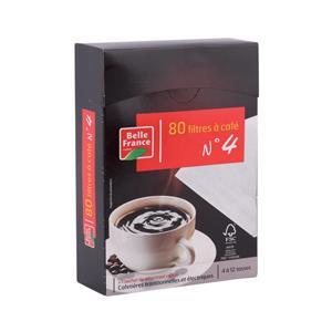 Boîte de 80 filtres à café N°4