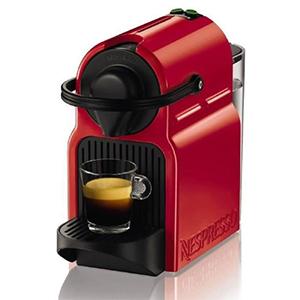 Machine à café NESPRESSO rouge