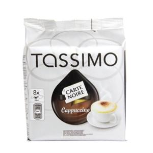 16 Dosettes Tassimo T DISCS Carte Noire Cappuccino