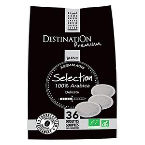36 Dosettes souples Selection Arabica DESTINATION